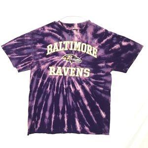 Baltimore Ravens custom tiedye T-shirt